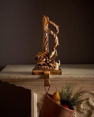 Horchow Music Note Christmas Stocking Hooks