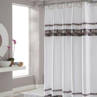 Croscill Deco Bain Tile Shower Curtain
