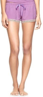 Gap Vintage lace modal shorts