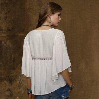 Denim & Supply Ralph Lauren Embroidered Butterfly Top