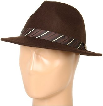 Goorin Bros. Brothers - First Class Fedora (Brown) - Hats