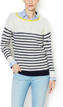 Trovata Merino Wool Striped Sweater