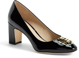 Tory Burch 'Raleigh' Patent Leather Pump (Women) $295 thestylecure.com