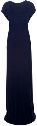 Jean Paul Gaultier rear tie fastening gown