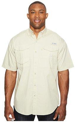 Columbia Big Tall Boneheadtm S/S Shirt (White Cap) Men's Short Sleeve Button Up