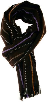 Johnstons Merino Scarf - Purple