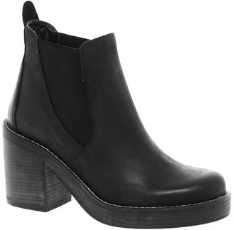 Asos PREMIUM ABOVE ALL Leather Chelsea Ankle Boots
