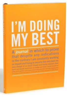 Knock Knock 'I'm Doing My Best' Journal