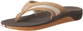 Reef Women's Leather Slap 3 Flip Flop $47.95 thestylecure.com