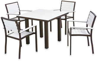 Bed Bath & Beyond POLYWOOD® Euro 5-Piece Textured Dining Set