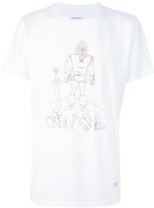 Norse Projects print t-shirt