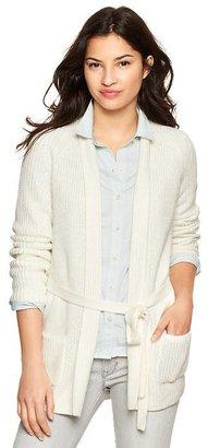 Gap Open-front shawl cardigan