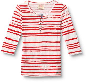 Quiksilver Sail Stripe Henley Shirt