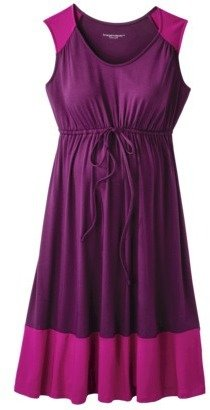 Liz Lange for Target® Maternity Scoop-Neck Knit Dress - Plum/Pink