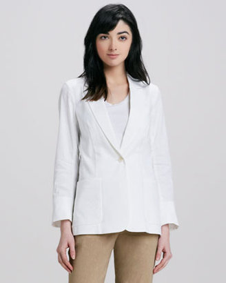 Theory Relaxed Linen Blazer