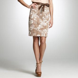 Jones New York Floral Printed Skirt