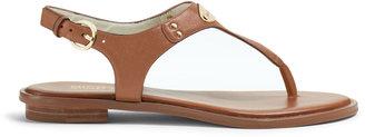 Michael Kors MICHAEL Flat T-Strap Thong Sandal