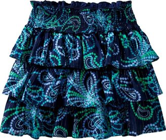 Old Navy Girls Ruffle-Tiered Paisley Skirts