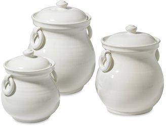 Williams-Sonoma Tuscan Ceramic Canisters