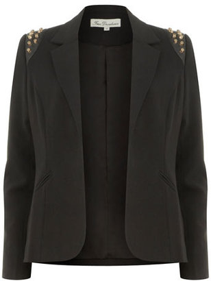 Dorothy Perkins Black stud shoulder blazer