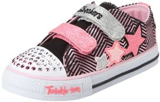 Skechers 10249N TWINKLE TOES - S LIGHTS - Shuffles - Triple Up Sneaker with blinking lights (Toddler/Little Kid)
