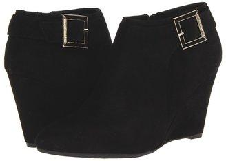 Isaac Mizrahi New York - Winona (Black Suede) - Footwear