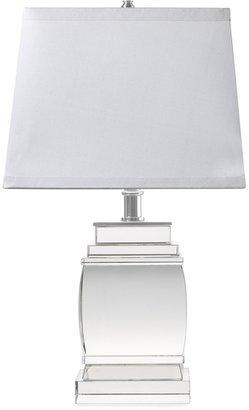 Williams-Sonoma Petite Square Crystal Lamp