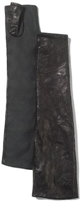 Vince Camuto Leather Fingerless Gloves