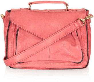 Topshop 70s Leather Satchel Bag