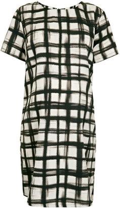 Topshop Maternity Grid Tunic Dress