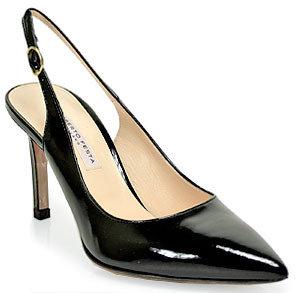 Roberto Festa RobertoFesta - 85001 - Black Patent Leather Slingback