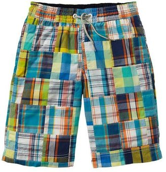 Gap Patchwork swim trunks