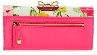 Ted Baker 'Flowers at High Tea' Matinee Wallet