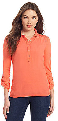 Vince Camuto TWO by Roll-Tab Henley