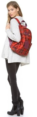 Marc by Marc Jacobs Preppy Nylon Aimee Plaid Backpack