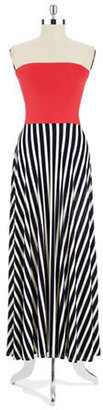 LOVE ADY Striped Maxi Dress