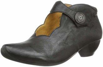 Think! Women's Aida Court Shoes Black Schwarz (SCHWARZ-00) Size: 42.5 EU (8.5 Damen UK)