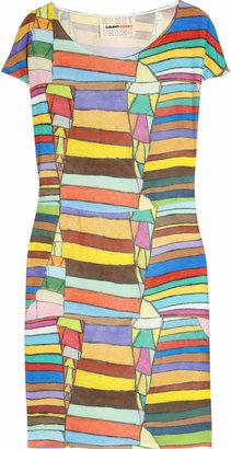 Clements Ribeiro Candy printed silk-satin dress
