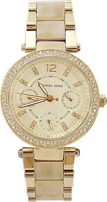 Michael Kors WATCH Parker Round Horn Bracelet Watch