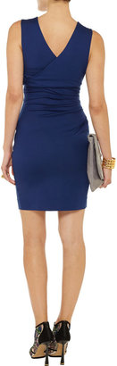Diane von Furstenberg Parker gathered jersey dress