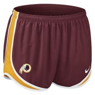 "Redskins Nike Tempo 3.5"" NFL Washington Women's Running Shorts"