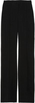Burberry Silk-blend crepe tuxedo pants