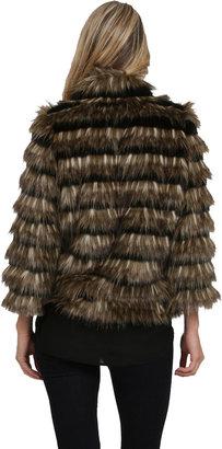 Heartloom Sydney Faux Fur Coat in Natural