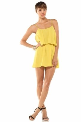 Lovers + Friends Sunkissed Dress in Citrus $159 thestylecure.com