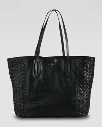 Cole Haan Victoria Woven-Side Tote Bag