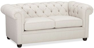 Pottery Barn Chesterfield Love Seat