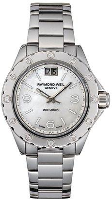 Raymond Weil Women's 6170-ST-05997 Spirit Diamond Accented Stainless Steel Watch