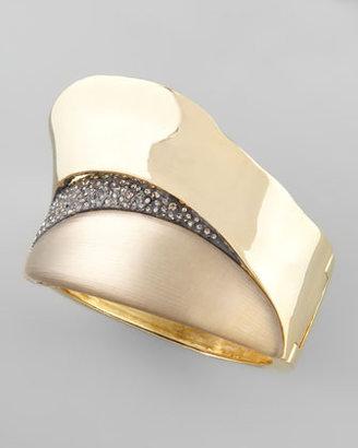 Alexis Bittar Golden Slice Bracelet