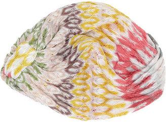 Missoni Crochet-knit turban