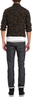 Camo Naked & Famous Denim Print Denim Style Jacket
